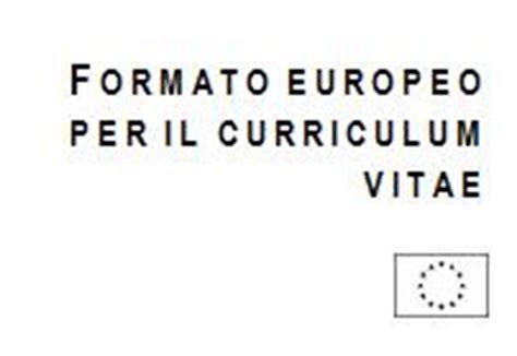 Fac Simile Curriculum Vitae Europeo Commercialista